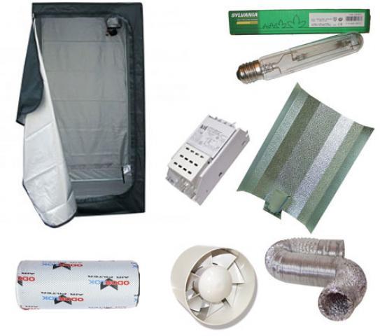 Productos fitosanitarios semillas fertilizantes mantenimiento reas verdes kit armario - Armario cultivo interior 120x120x200 ...